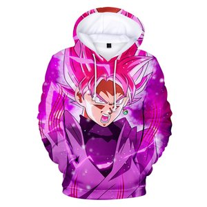 2019 New Son Goku Kakarotto Felpa con cappuccio Super 3D Felpa con cappuccio uomo / donna casual Hip Hop