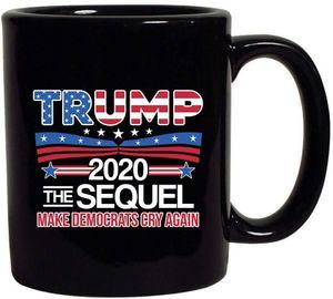 Trump Kahve Kupalar Seçim A.B.D.A Makyaj Amerika Büyük Trump Seramik Kahve Süt Kupası Donald Trump Handgrip Seramik fincanlar 8styles GGA3152