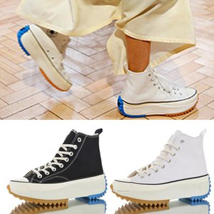 JW Anderson Chucks Starhike 1970s Womens Canvas Boots Muffin Sawtooth Bottom Fashion Designer 1917 Sneakers Yellow Love Running Shoes