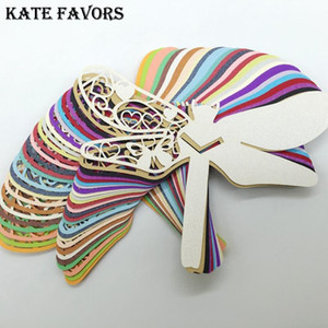 50pcs Wedding Place Name Card Wine Glass Card Dragonfly Place Cards Birthday Party Table Centerpieces Decoration Craft