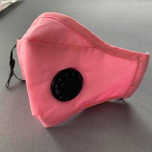Maschere riutilizzabile anti-fog anti-polvere della maschera di purificazione dell'aria riutilizzabile Maschera maschere di filtro al carbonio anti-fog PM2.5 respiratore con filtro libero