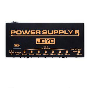 Перезаряжаемый источник питания JOYO JP-05 с 8 выходами постоянного тока и 1 стандартным выходом USB