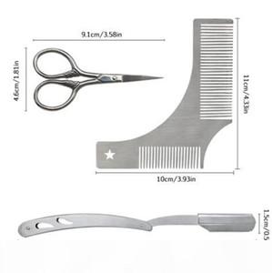 Styling Tools Comb Beard Shaping Tool Styling Template Beard Comb Men Shaving Tools Gentleman Beard Molding Trim Template