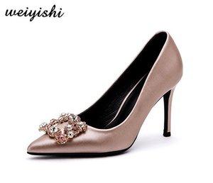 2018 женщин новые ботинки моды. леди обувь, weiyishi 005