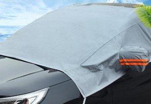 Universal Half Car Cover respirante Protection UV Covers étanche extérieur bouclier voiture