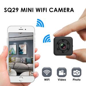SQ29 Mini telecamera di sicurezza 480P FHD Sport WiFi Camera con shell impermeabile Versione notturna movimento DVR Micro fotocamera Camcorder DV DV
