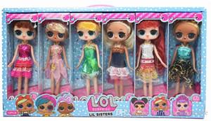 9 Pulgadas PVC Kawaii Encantadores Juguetes de Los Niños Anime Figuras de Acción Realistas Muñecas Renacidas Regalo 6 Estilos 6 unids / caja