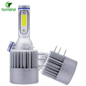 Tuyofo H15 Car led bulb Lamp Super Bright COB LED Headlight Auto Headlamp Replacement Canbus Error Free For Cars Automobile