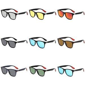 Mincl 2020 Большие Крупногабаритные плоские квадратные Модные солнцезащитные очки Щит Wrap Красивая укладка в дополнение UV400 Nx # 409