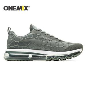 2020 ONEMIX de Corrida de Rua almofada de ar homens Sapatilhas Sapatas de passeio exteriores homens corrida em esteira sapatos femininos sapatos de ténis homens