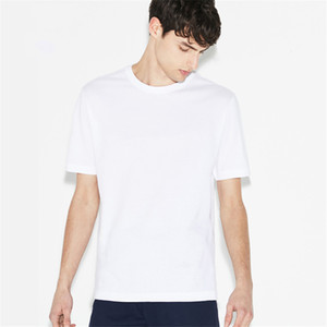 Italy brand men's cotton T-shirt luxury round neck Cotton monogrammed loose-fitting couples cool short sleeve t-shirts for men and women