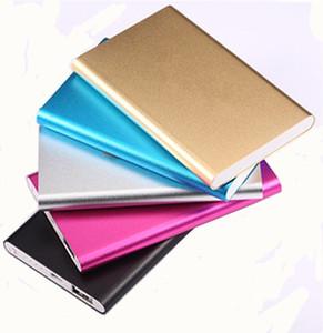 Power Bank 4000mAh Batería externa cable de carga Tablet PC Cargador Teléfono celular Power Banks Con caja al por menor