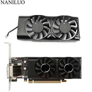 Computer & Office HA5510M12F-Z 0.20A 2Pin 1050 Ti GPU Cooler Fan For MSI Geforce GTX 1050 2GT LP GTX 1050Ti 4GT