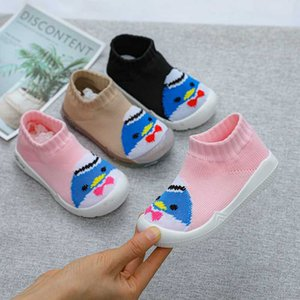 Baby Shoes First Shoes Baby Walkers Toddler First Walker Girl Kids Soft Rubber Sole Shoe Knit Booties Anti-slip B004