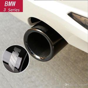 العادم السيارات التصميم الخلفي الأنابيب الغلاف تريم الإطار لBMW 1 2 3 4 5 7 سلسلة X1 3GT F20 F22 F30 F32 F34 F10 F48 G30 G11 اكسسوارات السيارات