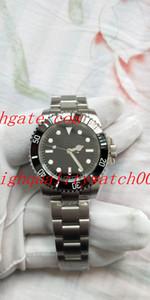 최신 샘플 클래식 시리즈 남성 패션 손목 시계 SY는 2836 116,610 40mm 블랙 세라믹 베젤 스테인레스 스틸 자동 남성 다이얼