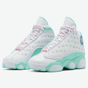 2020 New GS Aurora Grün Weiß Rosa 13s Basketball-Schuhe für Frauen Jumpman 13 Sport 23 Trainer-Turnschuhe des Chaussures Größe 36-40
