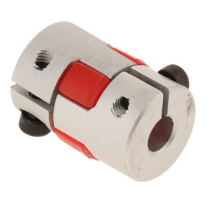 CNC Flexible Jaw Spider Plum Coupling Shaft Coupler D 8mm L 20mm
