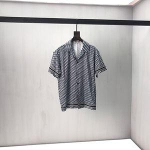 New European Men's Long Shirt Long T-shirt stampata T-shirt a maniche corte Jacquard scuro Lettera LOGO SAME PER UOMINI E DONNA 03