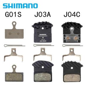 SHIMANO G01S J04C J03A Pastilhas de freio DEORE XT SLX DEORE J02A J04C Cooling Fin Ice tecnologia Brake Pad M7000 M8000 M9000 M9020 M6000