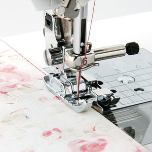 Metal Sewing Machine Feet Patchwork Presser Sewing Accessories Embroidery Tools Handcrafts Gadgets