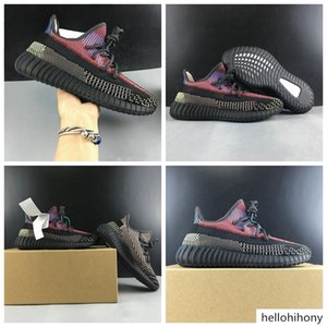 Come With Box Yecheil Athletic Designer Shoes New Comfortable Kanye West Black Multicolor Fashion Sneakers Best Quality Size US4-13