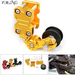 Универсальный алюминиевый вагонетки контроллер ATV Roller / Чоппер Мотоцикл Roller натяжитель цепи натяжителя цепи