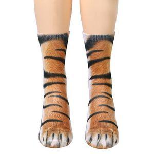 Erwachsene Kinder Baumwollsocken Kid Lustige 3D Tier Socken Kawaii nett für Männer Frauen DBC VT1236 Tiertatzen-Socken-Fashion High Socken Drucken