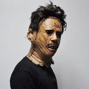 texas leatherface تأثيري حلي أقنعة مخيف اللعب جودة مذبحة المناشف الفيلم عالية الدعائم هالوين vbkpl