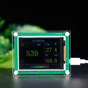 Digital Anidride carbonica Rivelatore Qualità dell'aria interna / esterna Tester Meter CO2 Monitor Tester analizzatori di gas