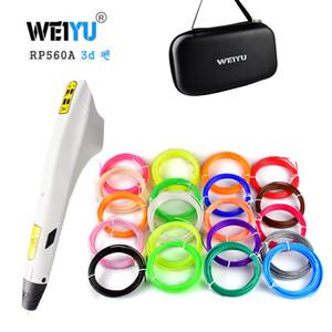 Nuovo modello 3D Penna Scribble Penna PLA ABS Filamento Stampante 3D Regali di Natale Stampa Lapiz per scuola Matita Gadge
