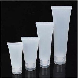 15ml 20ml 30ml 50ml 100ml bereifte-Flasche aus Kunststoff kosmetische weiche Schläuche Container Screw Flip Cap Lotion Shampoo Squeeze Flasche leer