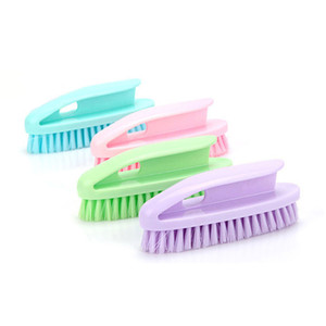 New Multifunctional Housework Clothes Cleaning Brush Family Chores Plastic Laundry Washing Shoe Cleaning Tools Free Shipping