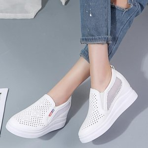 Hot Sale-Shoes Platform High Heels Shoes Wedges Woman Shoes trainers Height Increasing