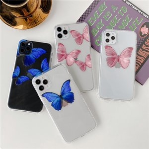 luxury designer phone cases iphone 11 butterfly For pro x xr xsmax 6 7 8 p case cover for samsung galaxy s10 plus