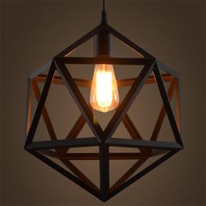 luz pendant Europeia para sala de estar quarto de hotel em ferro forjado lâmpadas de estudo restaurante