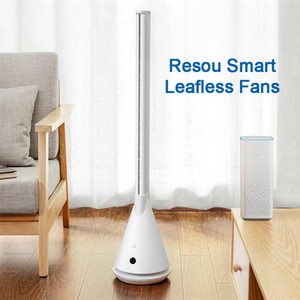 Xiaomiyoupin Mi resou Smart Home Leafless Tour ventilateur de refroidissement 11 Vitesse du vent Timing resou refroidisseur d'air intelligent Ventilateurs Leafless