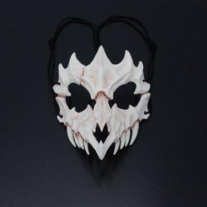 Hip Hop Halloween Day Masks Fashion Hollow Design Men Women Mask Make-up Party & Banquet Trendy Masks