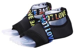 حار بيع - خمسة أصابع تنفس الهواء اليوغا الجوارب المهنية اللياقة البدنية ممارسة الرقص ملزمة مع أحذية لينة أسفل سيليكون عدم الانزلاق اليوغا أحذية
