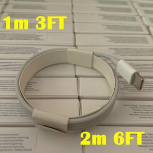 500pcs / lot 6 Generationen Original-OEM-Qualität 1m / 3ft 2M / 6ft USB-Daten-Synchronisierungs-Gebühren-Kabel mit neuem Paket