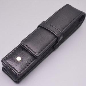 Оптовая черный PU кожаный МБ ручка канцелярские высокое качество ручка чехол фирменный подарочный набор карандаш сумка