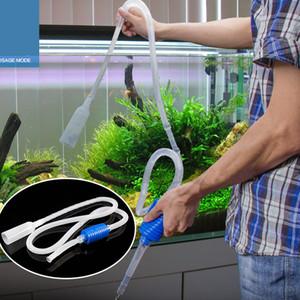 Venda quente 1.5 m Sifão Cascalho de Sucção Do Filtro Da Tubulação de Aquário Tanque De Peixes De Vácuo Troca De Água Mudar Limpo Sifão Simples Prático