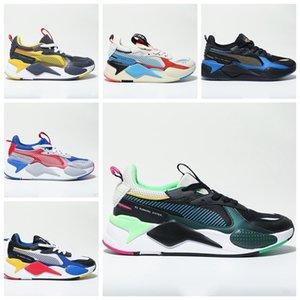 Puma RS-X RSSS-X reinvención zapatillas de deporte de los hombres azul gris rojo RSSS-X juguetes de los hombres zapatos corrientes ocasionales de la marca de moda zapatos de