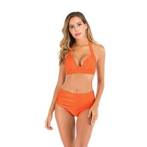 RXRXCOCO Hot Bikini Swimsuit donne maillot de bain Femme Bikini Pulsante vestito di nuoto per le donne del Beachwear dello Swimwear del costume da bagno # 508
