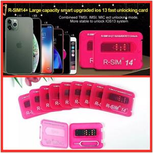 Новый RSIM 14+ R sim14 + RSIM14 + R 14+ RSIM разблокировки карты SIM 14+ Для iphone 11 Pro Max 8 IOS13 Универсальный Unlock Card