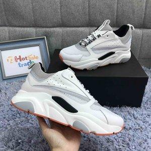 Formadores de becerro 3D reflectante B22 zapatillas de deporte Hombres Mujeres Zapatos Casual 2020 Nueva B22 Formadores Día de San Valentín caja de regalo incluida
