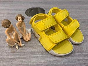 Classique crochet-et-boucle sport sandales originaux Adilette 3.0 Sandales Core Noir Rose Jaune Nuage Blanc Enfants Sandales 2020