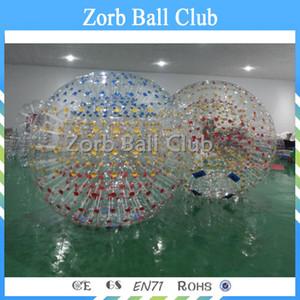 Libero di trasporto 2.5m diametro del rullo gonfiabile Hamster umana Vetro Zorb Ball a rampa Zorbing in vendita