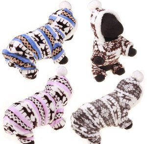 1PCS Pet Fall Winter Clothes Cute Fleece Dog Jacket Winter Warm Coat Dog Soft Flannel Vest Pet Windproof Jacket
