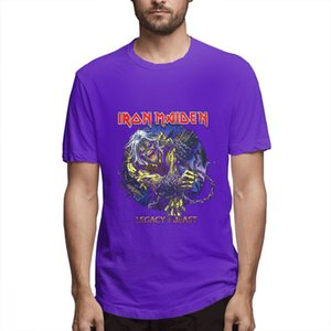 Iron Maiden T Shirt cute shirts Wildest Dreams Vortex Band Logo Official Mens New Black Shirts Graphic Shirt s5503